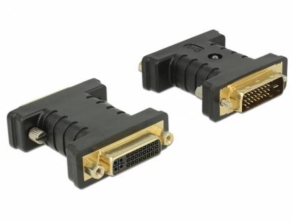 Adapter DVI 24+1 Stecker > DVI 24+5 Buchse EDID Emulator, Delock® [63313]