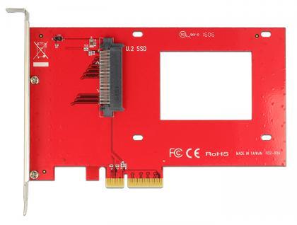 PCIe x4 an U.2 Slot NVMe, Delock® [89469]