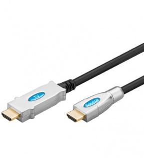 Kabelmeister® High-Speed-HDMI®-Kabel mit Verstärker, vergoldete Kontakte, 30m