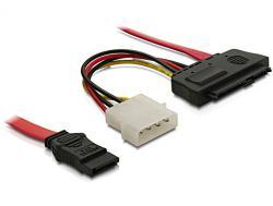 Kabel, SAS 29-Pin + Molex zu 1x SATA, 0, 5m, Delock® [82634]