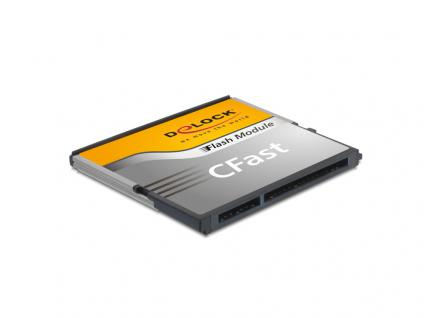 CFast Flash Card SATA 6 Gb/s, 8 GB, Typ MLC, Delock® [54538]