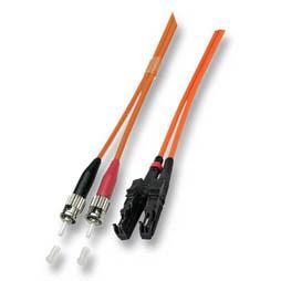 kabelmeister® Patchkabel LWL Duplex OS2 (Singlemode, 9/125) E2000®/ST, 2m