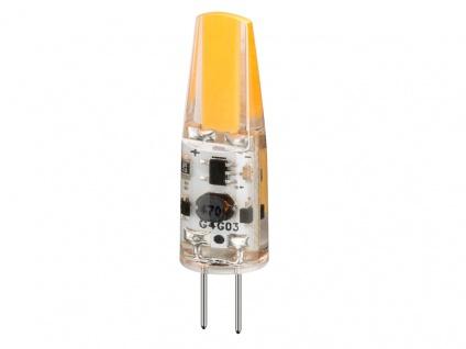 LED Kompaktlampe, Sockel G4, 1, 6W, 12V, 210 lm, 2700K, (warmweiß ...