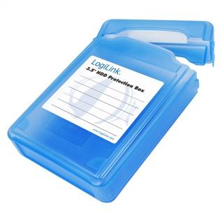 LogiLink® Festplatten Schutz-Box für 3, 5' HDDs [UA0133]
