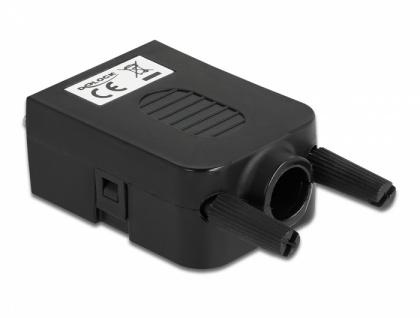 Adapter VGA 15 Pin Buchse an Terminalblock 10 Pin mit Gehäuse, Delock® [66259]