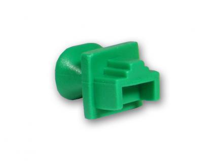 Staubschutzdeckel für RJ-45 Buchse, grün, Good Connections®