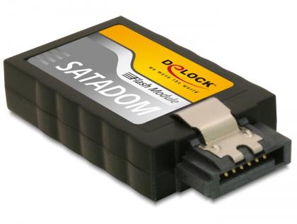 SATA 6 Gb/s Flash Modul 8 GB MLC -40____deg; C ~ +85____deg; C, Delock® [54732]
