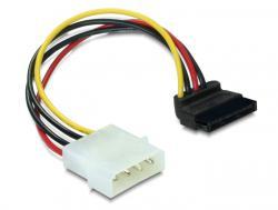 Kabel, Power SATA HDD zu 4pin Stecker - gewinkelt, Delock® [60101]