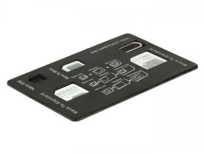 SIM Karten Adapterset 4 in 1, Delock® [20650]