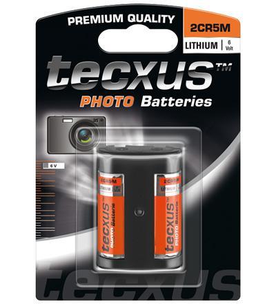 Tecxus® Batterie Lithium Photo 2 CR 5 M; 1er Blister