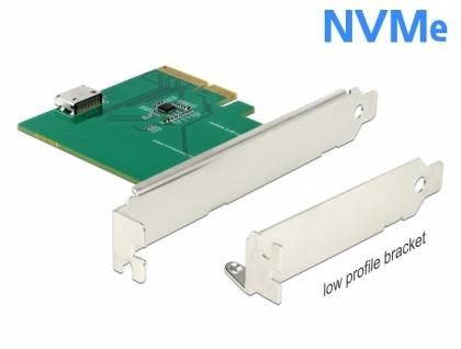 PCI Express x4 Karte an 1 x intern OCuLink SFF-8612 - Low Profile Formfaktor, Delock® [90307]