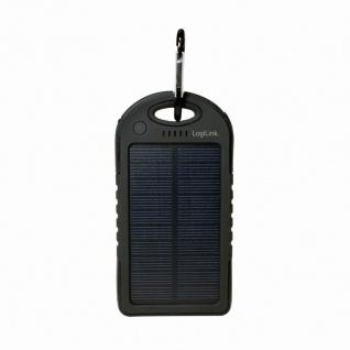Universal Solar Ladegerät, 5000 mAh, 2x USB-Port, LogiLink® [PA0132]