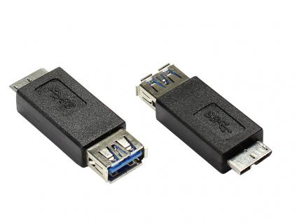 Adapter USB 3.0 A Buchse an Micro B Stecker, Good Connections®