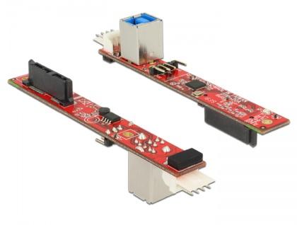 Konverter Slim SATA 13 Pin an USB 3.0 Typ-B Buchse, Delock® [62857]