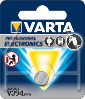 Varta® Knopfzelle (V394) Silberoxid-Zink, SR45, 1, 55V, 67mAh