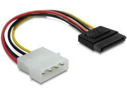 Kabel, Power SATA HDD zu 4pin Stecker - gerade, Delock® [60100]