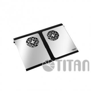 Titan® TTC-G9TZ Notebook-Kühler mit Klappfunktion
