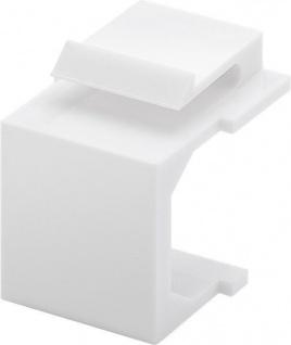 Keystone Abdeckung, weiß, 4 Stück