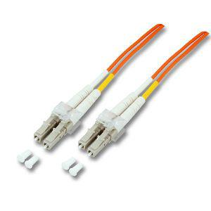 kabelmeister® Patchkabel LWL Duplex OS2 (Singlemode, 9/125) LC-APC/LC, 15m