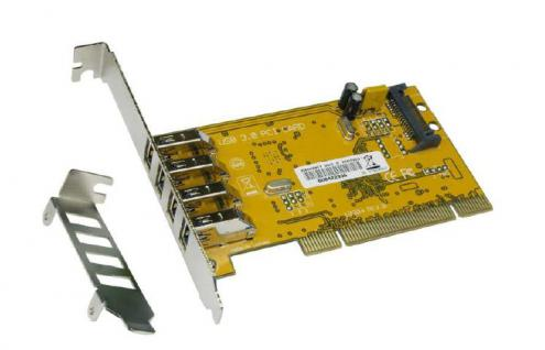 USB 3.0 PCI Karte mit 4 Port (Renesas), Exsys® [EX-1093]
