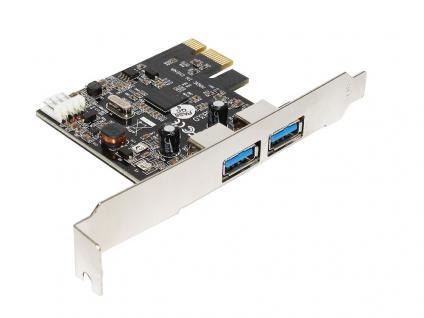 USB 3.0 PCI-Express Schnittstellenkarte 2-port