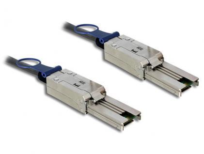 SAS Kabel SFF 8088 Stecker auf Mini SAS 8088, 3m, Delock® [83736]