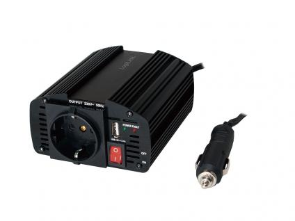 Kfz-Spannungswandler DC/AC 150W, mit USB-Port, LogiLink® [PA0080]