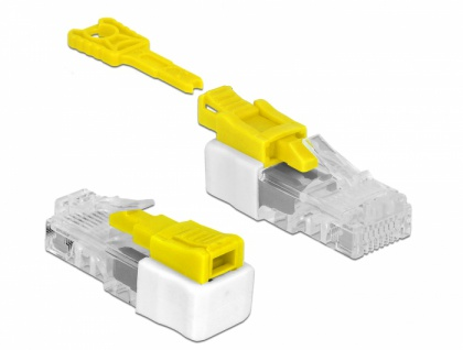 RJ45 Port Blocker Set mit 5 Stück, Delock® [85334]