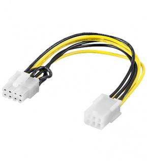 PCI Express 6pin auf 8pin Grafikkartenadapter, Good Connections®