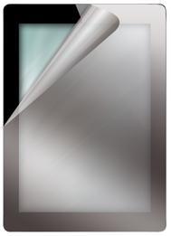Displayschutzfolie für das iPad 2, verspiegelt