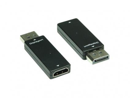 Adapter Displayport Stecker zu HDMI Buchse, Good Connections®