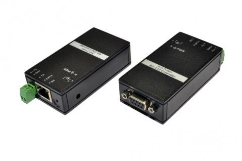 RS232 Extender bis 1200 Meter inklusive zwei Netzteile und ein RS-232 Kabel, Exsys® [EX-47951]