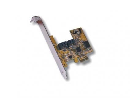 PCI-Express S-ATA 2 RAID 0, 1 Controller, Exsys® [EX-3501]
