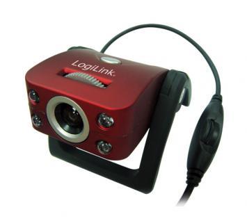 LogiLink® Webcam USB mit LED und Mikrofon [UA0067]