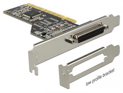 PCI Karte an 1 x Parallel, Delock® [89362]