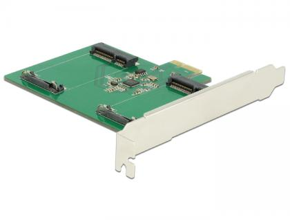 PCI Express Karte an 2 x intern mSATA, Delock® [89479]