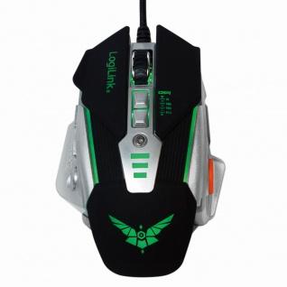 USB Gaming Maus mit zusätzlichen Gewichten, LogiLink® [ID0156]