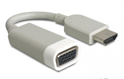 Adapter HDMI-A Stecker an VGA Buchse, Delock® [65469]