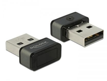 USB Typ-A Fingerabdruckscanner für Windows 10 Hello, Delock® [62963]