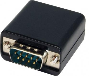 RS-232 Extender bis 50 Meter für Cat.5/6 Kabel, benötigt kein Netzteil, Exsys® [EX-47955]