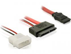 Kabel, Micro SATA Buchse + 2Pin Power an SATA, 0, 3m , Delock® [84384]