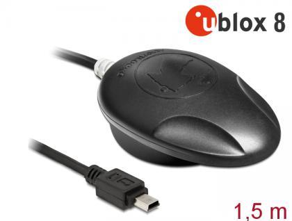 NL-8005U Mini USB 2.0 Multi GNSS Empfänger, u-blox 8, 1, 5m, Navilock® [62578]