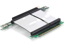 Schnittstellenkarte, Riser PCI Express x16 mit flexiblem Kabel, links gerichtet, Delock® [89130]