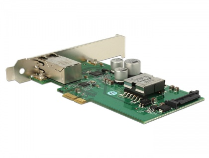 PCI Express Karte an 1x Gigabit LAN PoE+ RJ45, Delock® [89594]