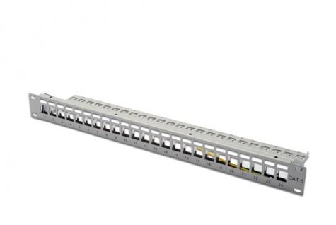 Digitus® Modular Gehäuse, 24 Port, grau
