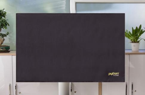 """Python® Series TV-Cover Indoor/Outdoor - wetterfester Universalschutz für Ihr TV oder Monitor, 78x48 cm, 28 bis 32"""""""