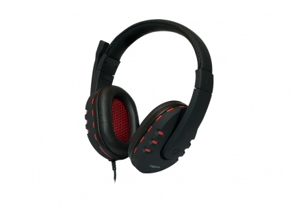 Stereo High Quality Headset mit integrierter Steuerung, LogiLink® [HS0033]