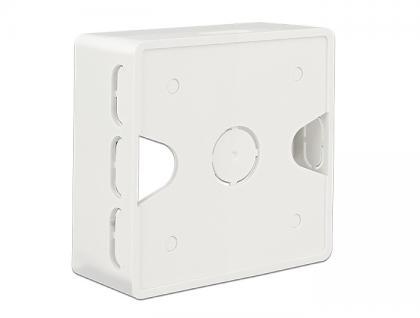 Aufputzgehäuse für Keystone Anschlussdose, Delock® [86128]