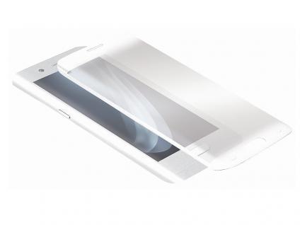 Displayschutzglas für Samsung Galaxy S6 Edge, weiß