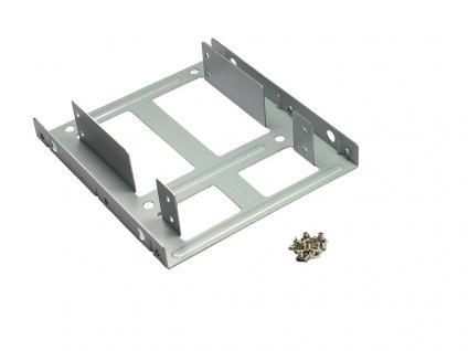 Festplatten Montage-Set, 2 BAY 2, 5' AUF 3, 5'